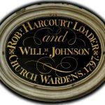 Robert Harcourt Loader and William Johnson Churchwardens 1797