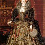 portrait of Elizabeth I in fine robes