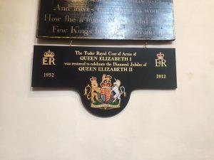the new commemorative board