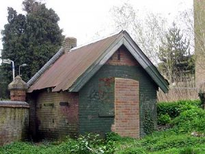 the sexton's hut