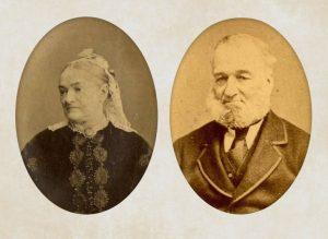 Hugh Hughes and Ellen Sophia