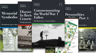Booklets about the cemetery