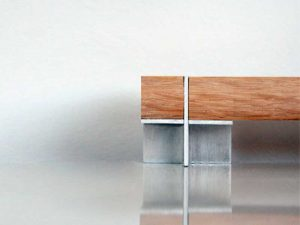 Cruciform bench design