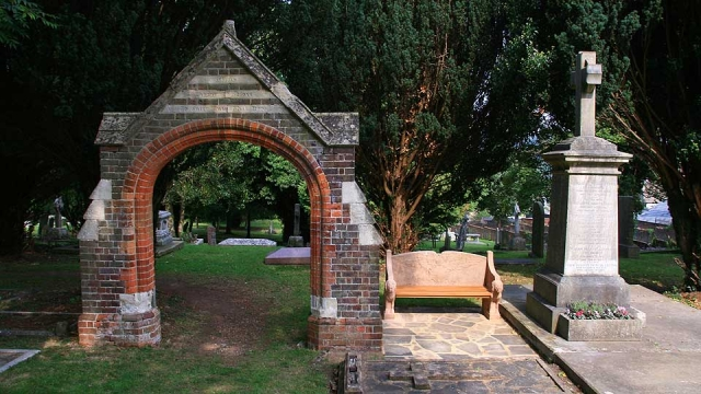 Memorial Arch and Seat