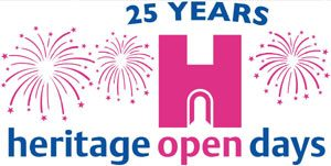 Heritage Open Days 25th anniversary